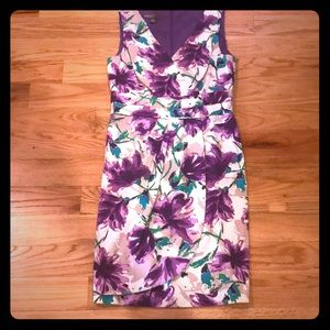 Donna Rico purple floral dress 4